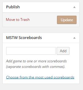 MSTW Scoreboards Metabox