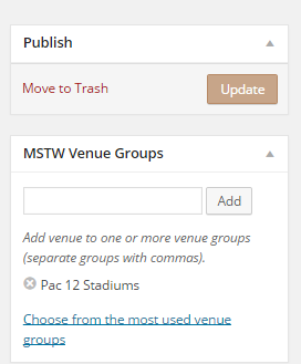 MSTW Venue Groups Metabox
